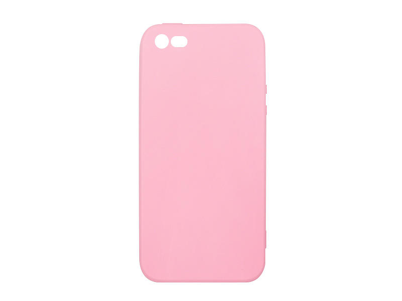 Apple iPhone 5 / 5S – etui na telefon Soft Flex – różowy