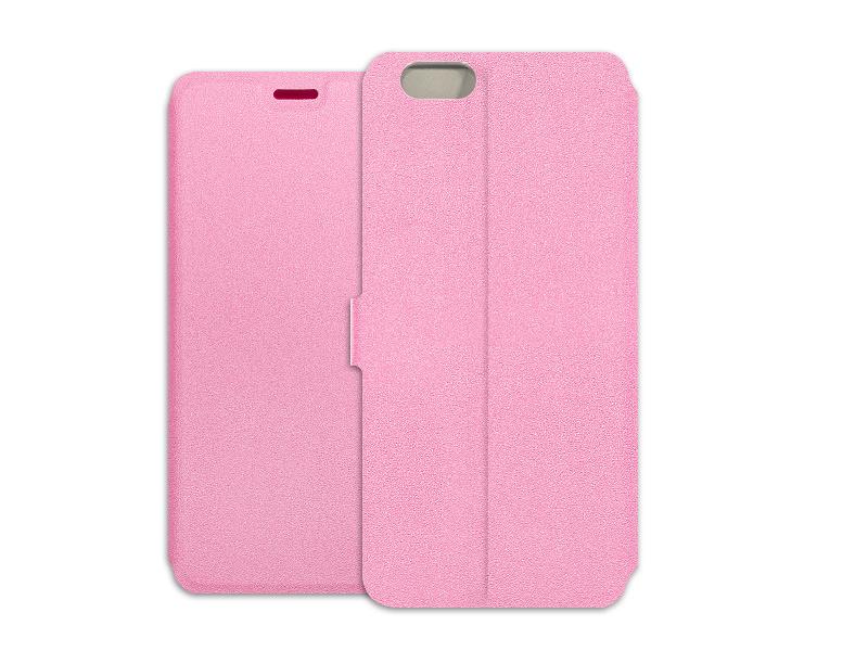Apple iPhone 6s – etui na telefon Wallet Book – różowy