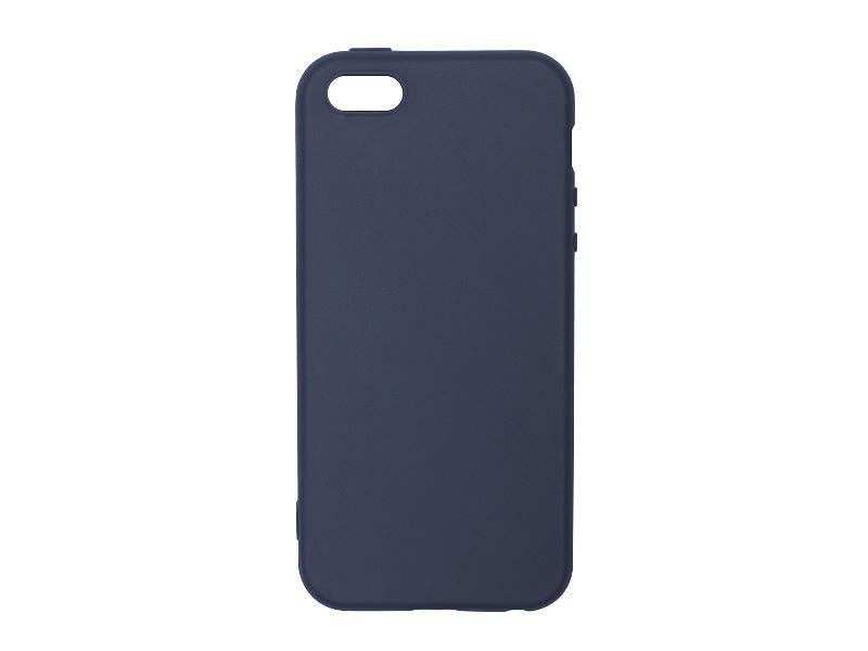 Apple iPhone 5SE – etui na telefon Soft Flex – granatowy
