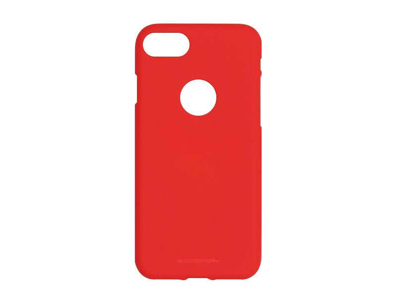 Apple iPhone 8 – etui na telefon Mercury Goospery Soft Feeling – czerwony