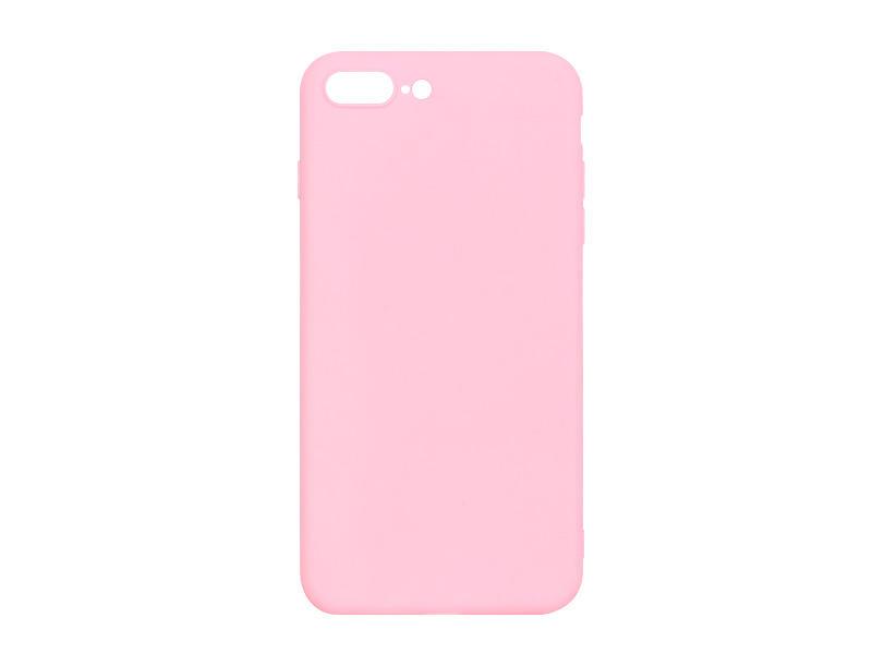 Apple iPhone 8 Plus – etui na telefon Soft Flex – różowy