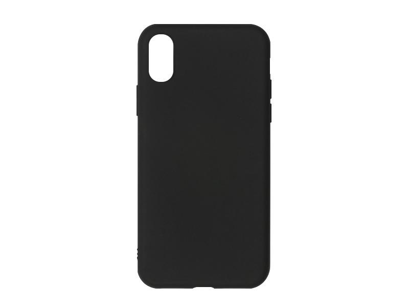 Apple iPhone X – etui na telefon Soft Flex – czarny