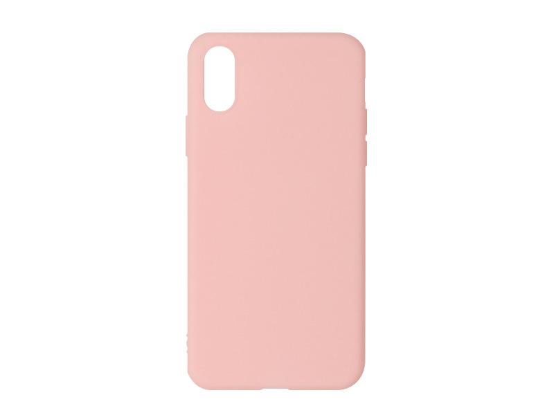Apple iPhone X – etui na telefon Soft Flex – różowy