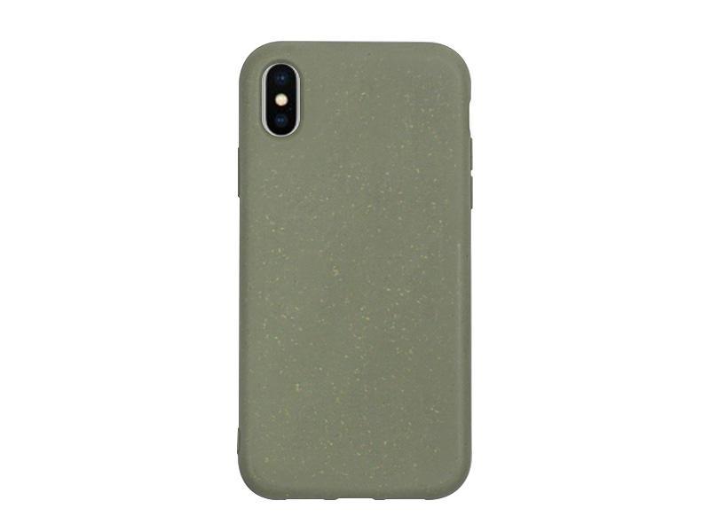 Apple iPhone XS – etui na telefon Forever Bioio – zielony