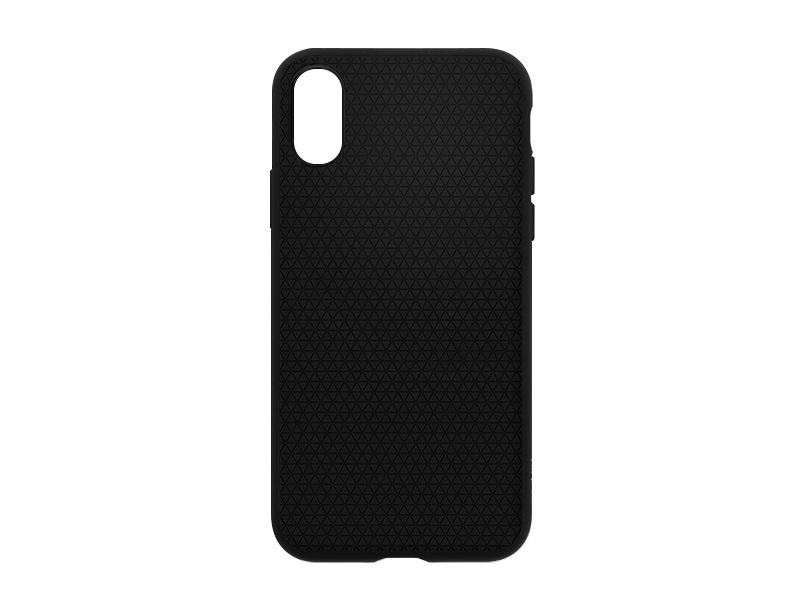 Apple iPhone XS – etui na telefon Spigen Liquid Air – Matte Black