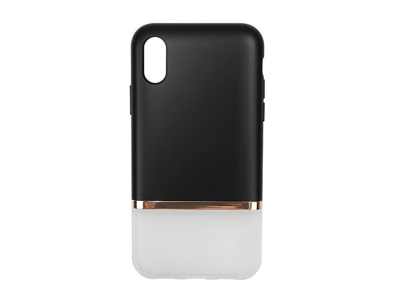 Apple iPhone XS – etui na telefon Spigen La Manon Jupe – Milk Black