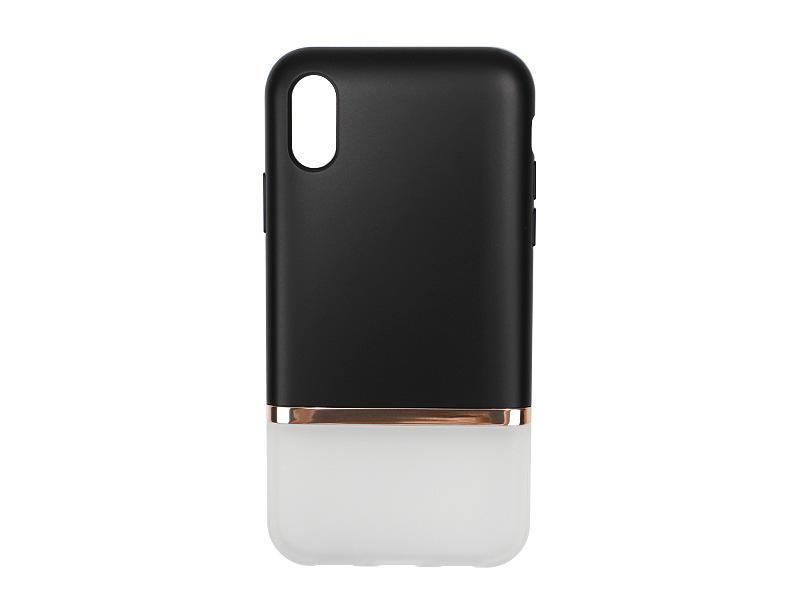 Apple iPhone XS Max – etui na telefon Spigen La Manon Jupe – Milk Black