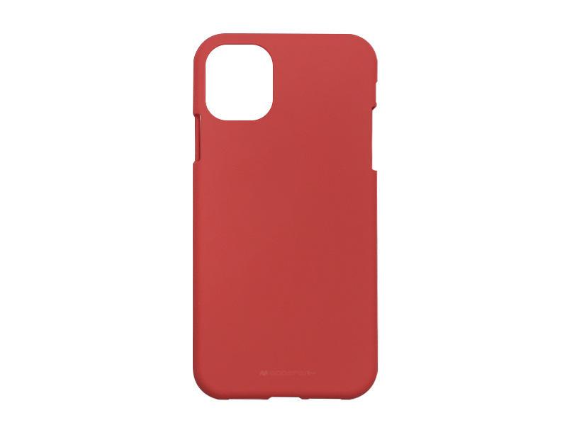 Apple iPhone 11 Pro – Mercury Goospery Soft Feeling – czerwony