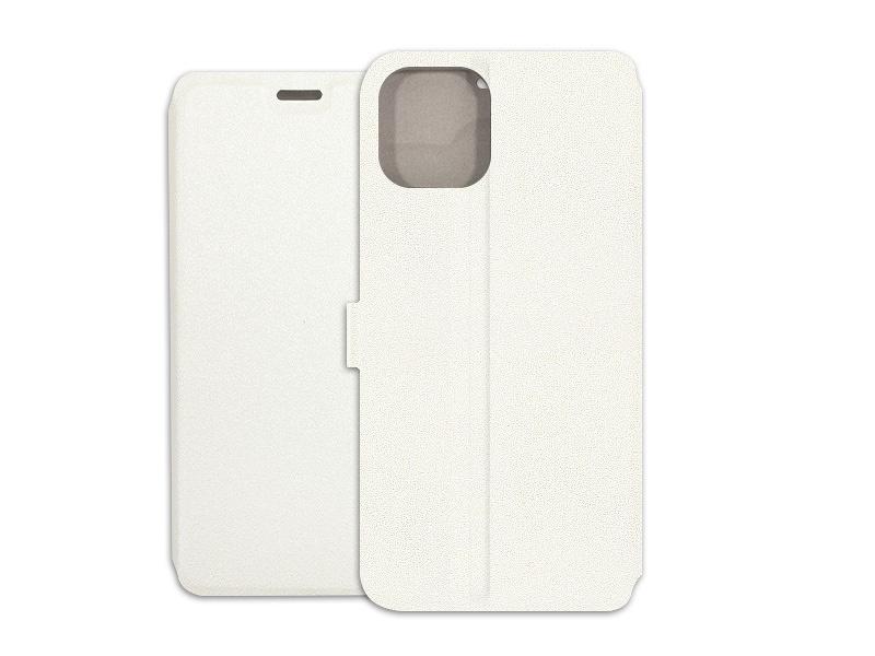 Apple iPhone 11 Pro – etui na telefon Wallet Book – biaÅ'y