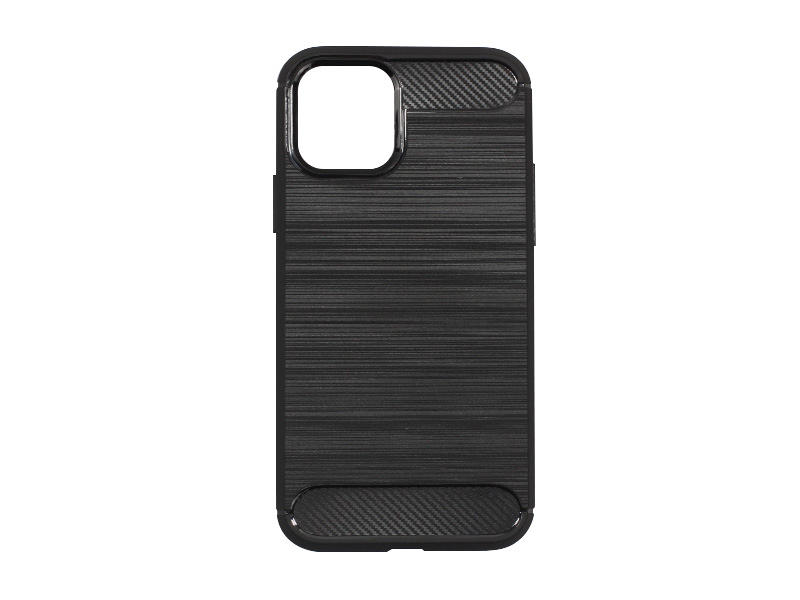 Apple iPhone 11 Pro Max – etui na telefon Forcell Carbon – czarny