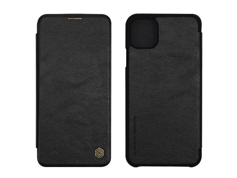 Apple iPhone 11 Pro Max – etui na telefon Nillkin Qin – czarny