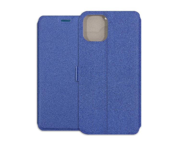 Apple iPhone 11 Pro Max – etui na telefon Wallet Book – granatowy