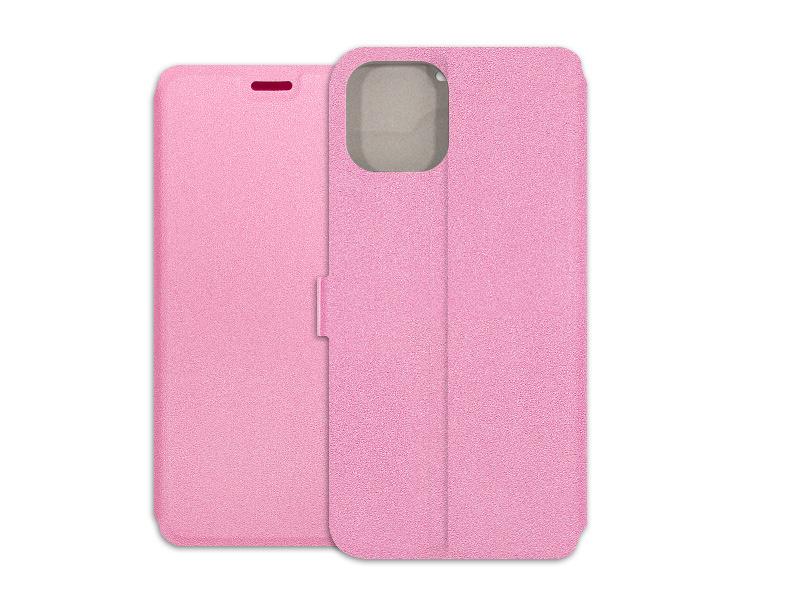 Apple iPhone 11 – etui na telefon Wallet Book – różowy