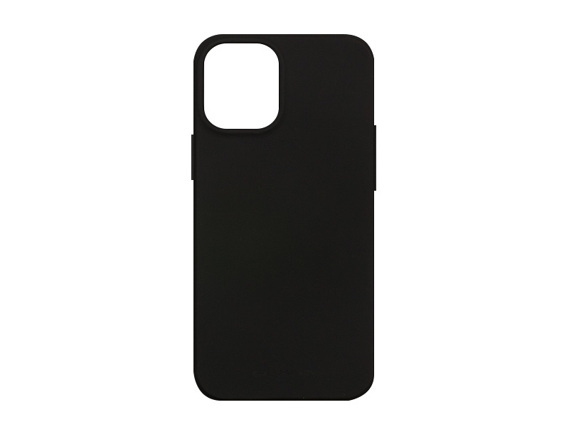 Apple iPhone 12 Mini – Mercury Goospery Soft Feeling – czarny