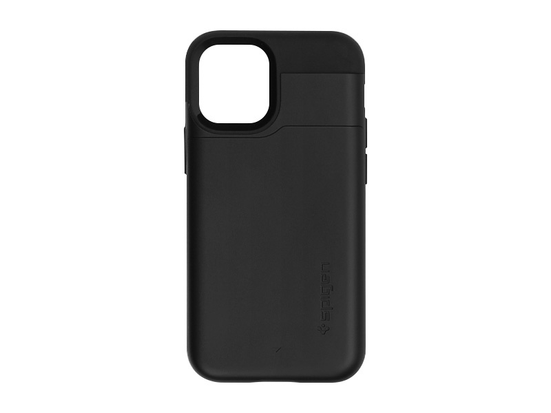 Apple iPhone 12 Mini – etui na telefon Spigen Slim Armor CS – Black