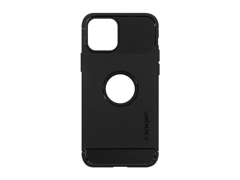 Apple iPhone 12 Mini – etui na telefon Spigen Rugged Armor – czarny