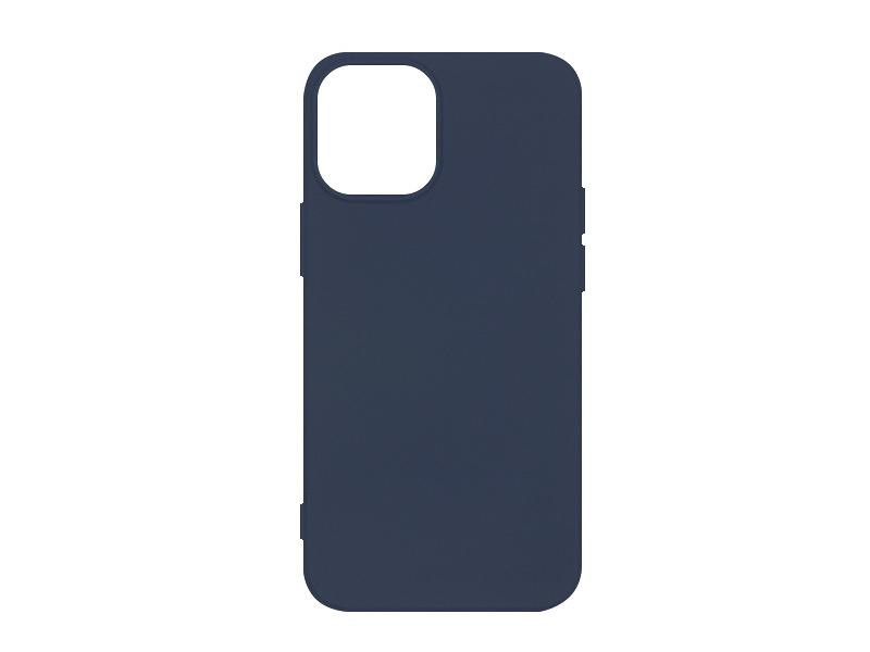 Apple iPhone 12 Mini – etui na telefon Soft Flex – granatowy