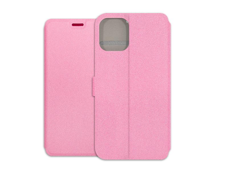 Apple iPhone 12 Mini – etui na telefon Wallet Book – różowy