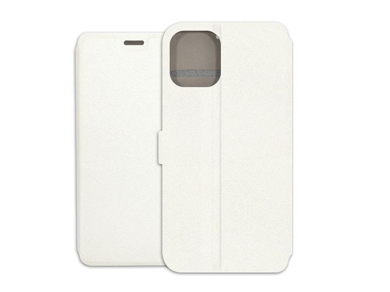 Apple iPhone 12 Mini – etui na telefon Wallet Book – biaÅ'y