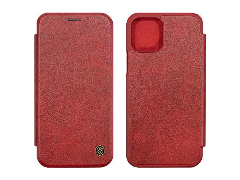 Apple iPhone 12 Pro – etui na telefon Nillkin Qin – czerwony