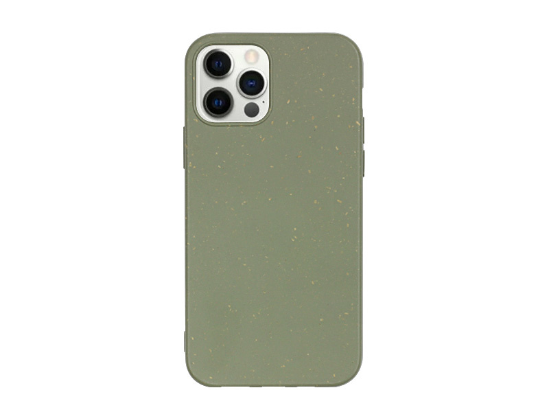 Apple iPhone 12 Pro Max – etui na telefon Forever Bioio – zielony