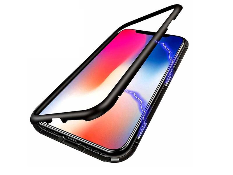Apple iPhone 12 Pro Max – etui na telefon Magneto Case – czarny