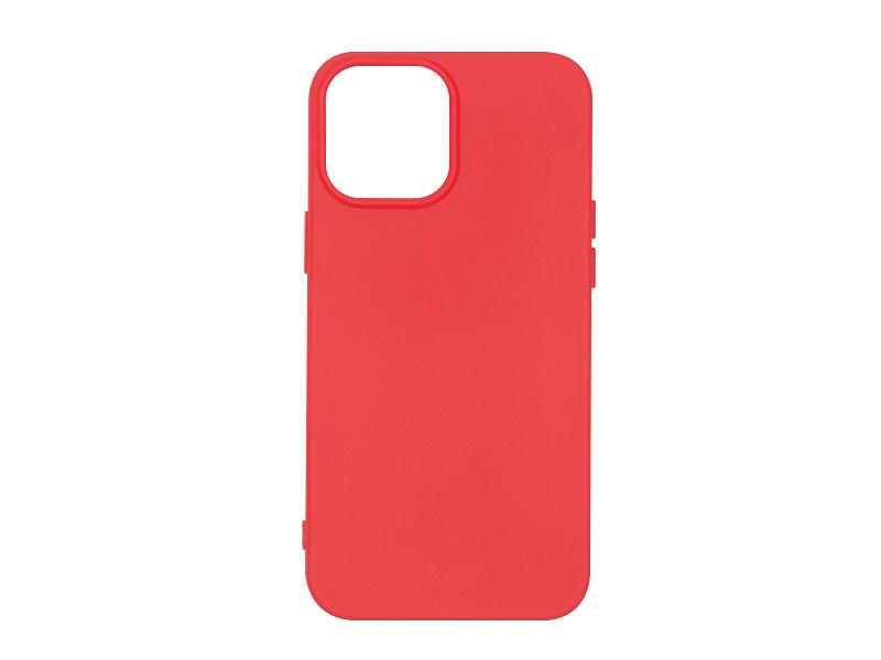 Apple iPhone 12 Pro Max – etui na telefon Soft Flex – czerwony
