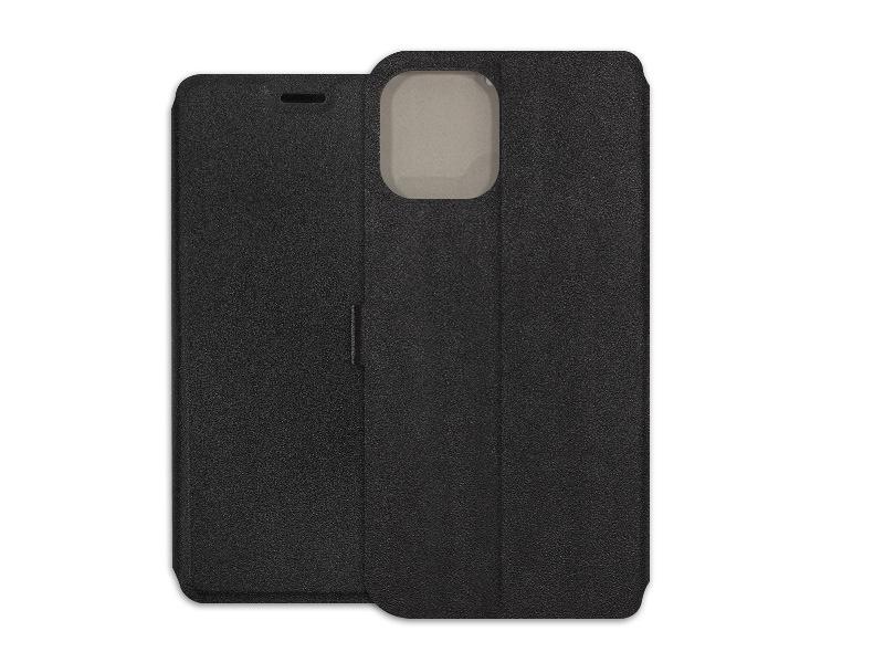 Apple iPhone 12 Pro Max – etui na telefon Wallet Book – czarny