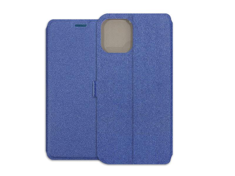 Apple iPhone 12 Pro Max – etui na telefon Wallet Book – granatowy