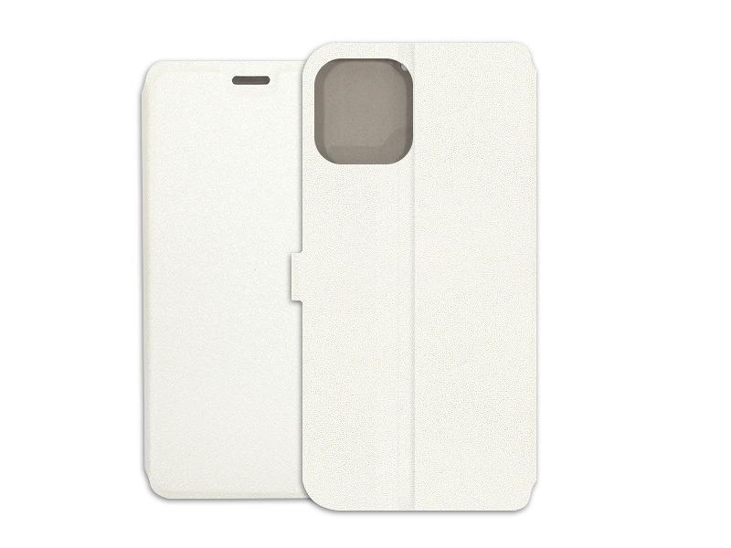 Apple iPhone 12 Pro Max – etui na telefon Wallet Book – biaÃ…Â'y