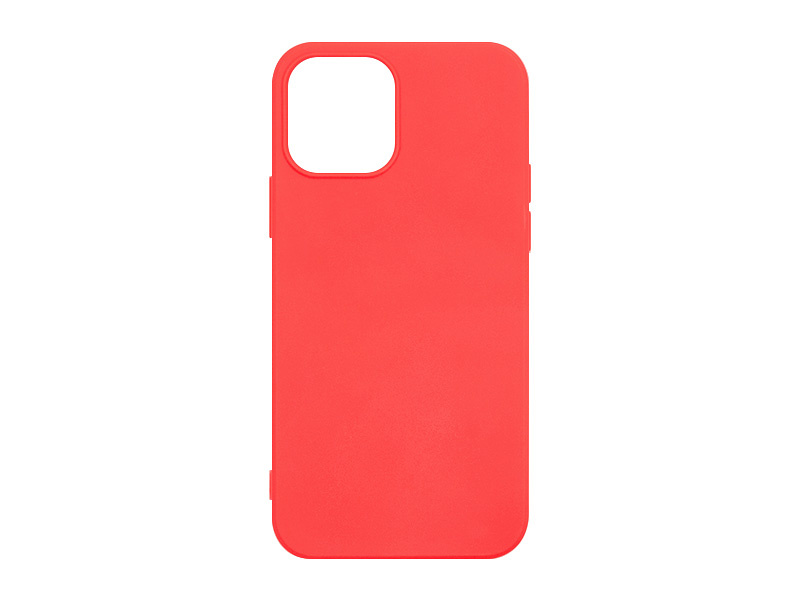 Apple iPhone 12 – etui na telefon Soft Flex – czerwony