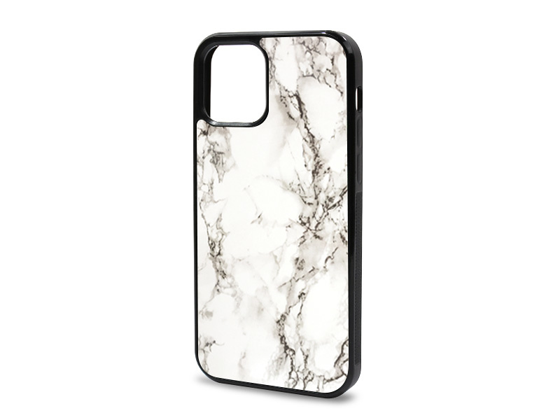 Etui na telefon Glossy Case – Marble Collection Case – BiaÅ'y Marmur