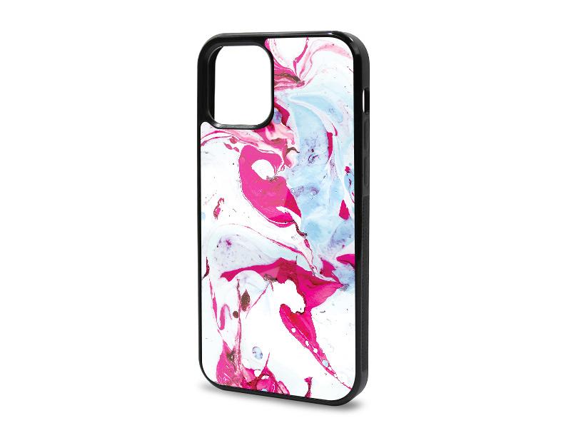 Etui na telefon Glossy Case – Marble Collection Case – Różowy Marmur