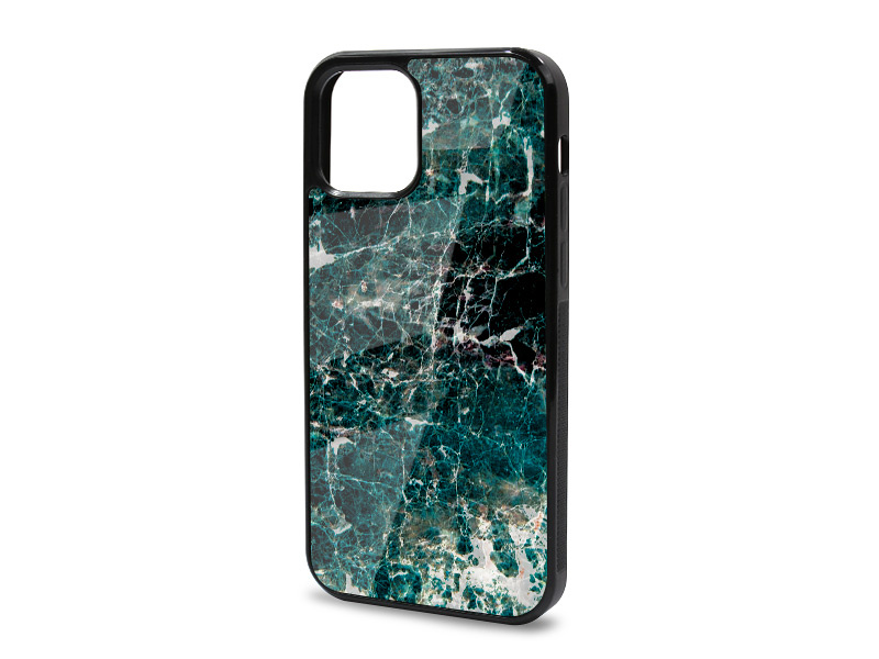 Etui na telefon Glossy Case – Marble Collection Case – Zielony Marmur