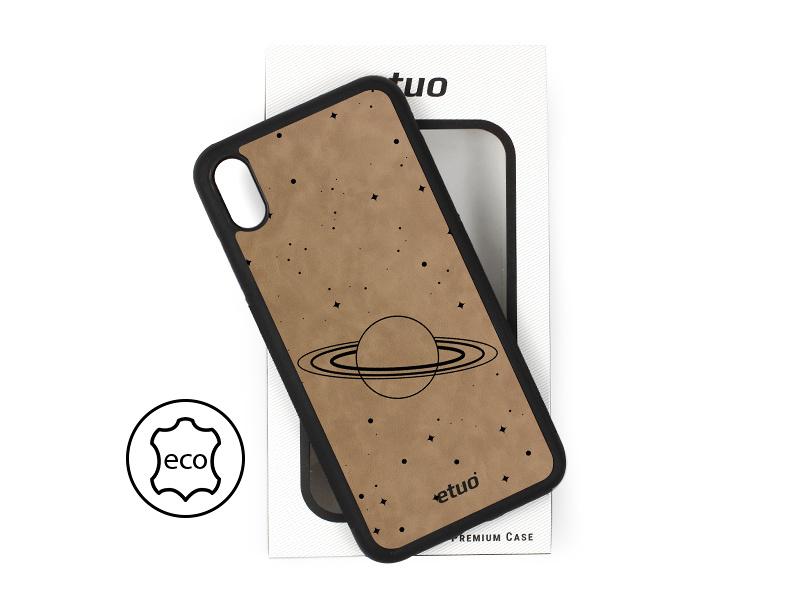 Etui na telefon Leather Case – szary – kosmos