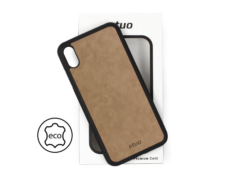 Etui na telefon Leather Case – szary