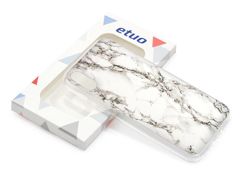 Etui na telefon – Marble Collection Case – BiaÅ'y Marmur