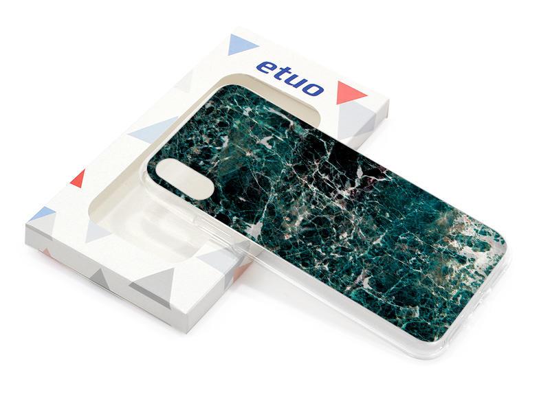 Etui na telefon – Marble Collection Case – Zielony Marmur