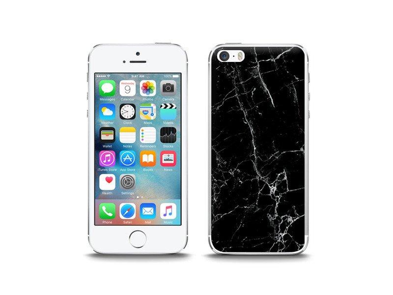 Apple iPhone 5 / 5S – etui na telefon Fantastic Case – czarny marmur