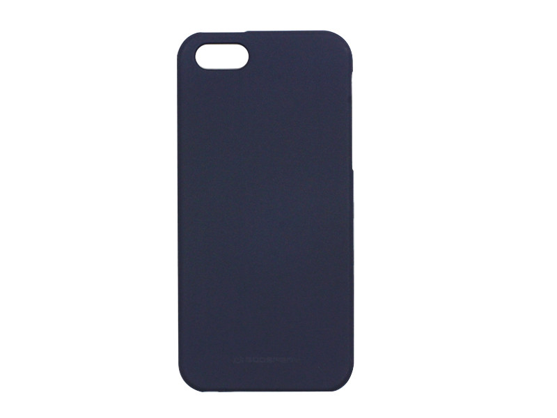 Apple iPhone 5SE – etui na telefon Mercury Goospery Soft Feeling – granatowy