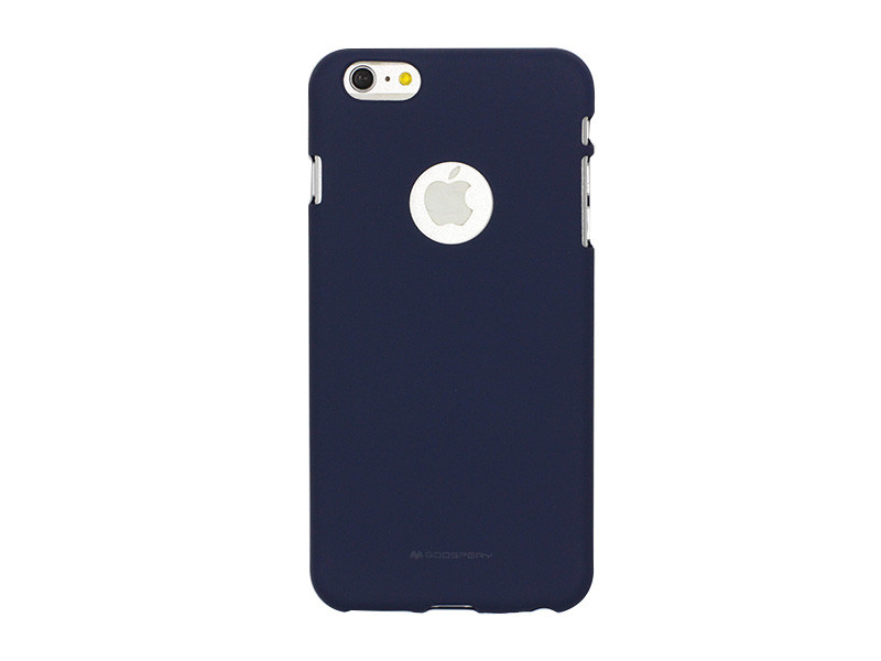 Apple iPhone 6 – etui na telefon Mercury Goospery Soft Feeling – granatowy