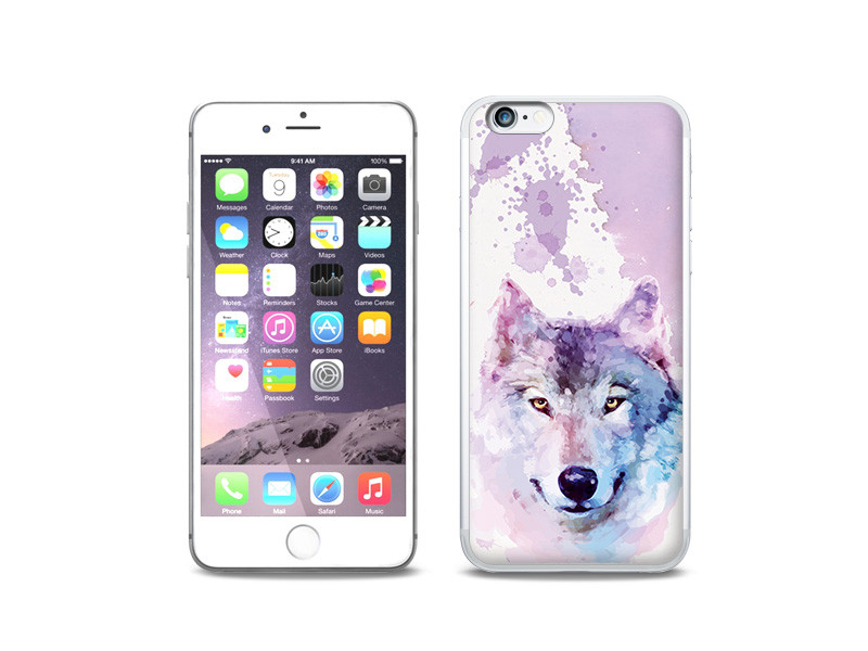 Apple iPhone 6 Plus – etui na telefon Fantastic Case – dream wolf