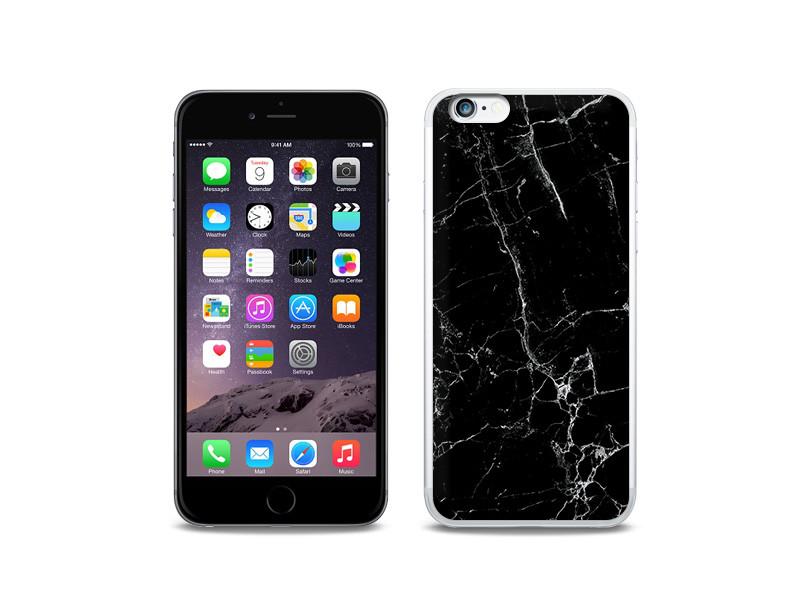 Apple iPhone 6s Plus – etui na telefon Fantastic Case – czarny marmur