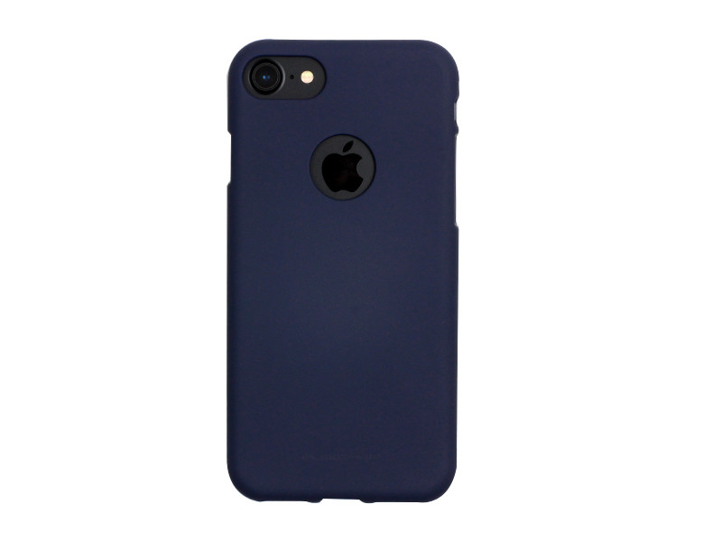 Apple iPhone 7 – etui na telefon Mercury Goospery Soft Feeling – granatowy