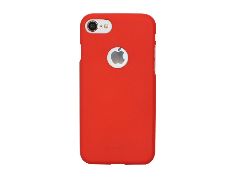 Apple iPhone 7 – etui na telefon Mercury Goospery Soft Feeling – czerwony