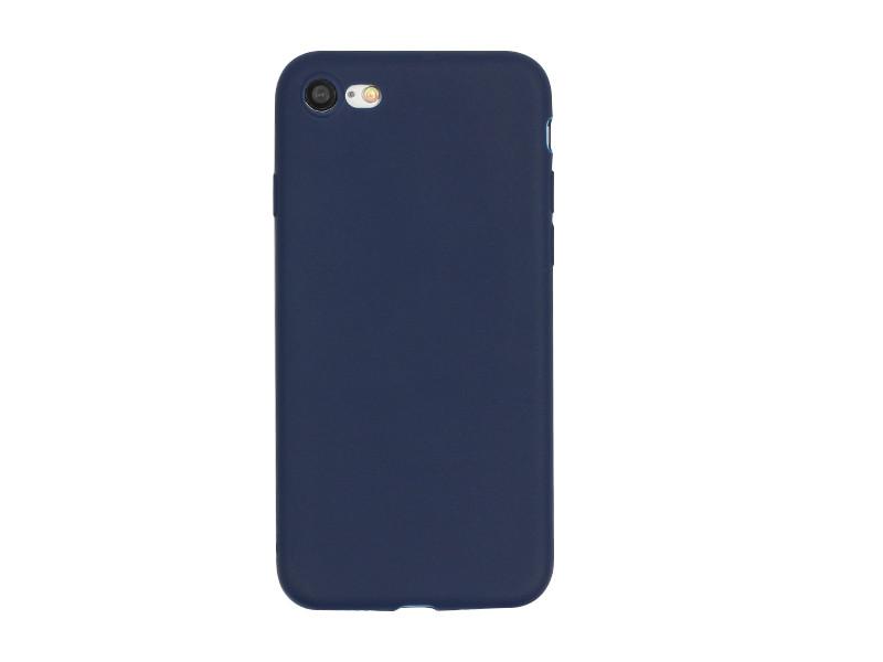 Apple iPhone 7 – etui na telefon Soft Flex – granatowy