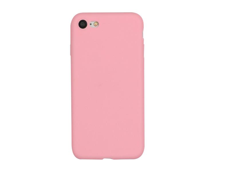 Apple iPhone 7 – etui na telefon Soft Flex – różowy