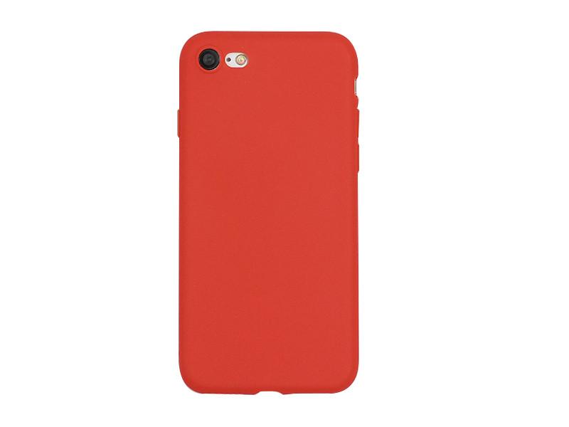 Apple iPhone 7 – etui na telefon Soft Flex – czerwony