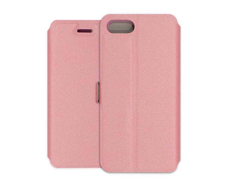 Apple iPhone 7 – etui na telefon Wallet Book – różowy