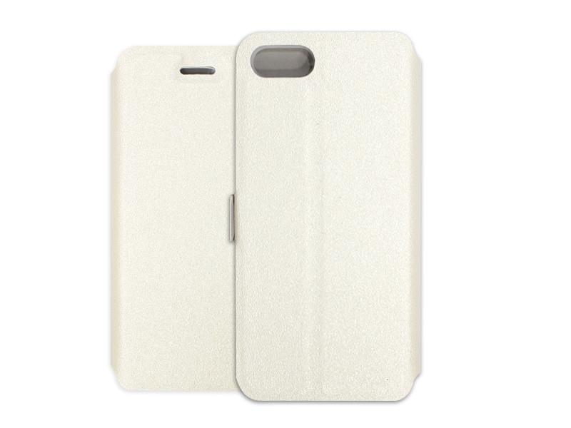 Apple iPhone 7 – etui na telefon Wallet Book – biaÅ'y